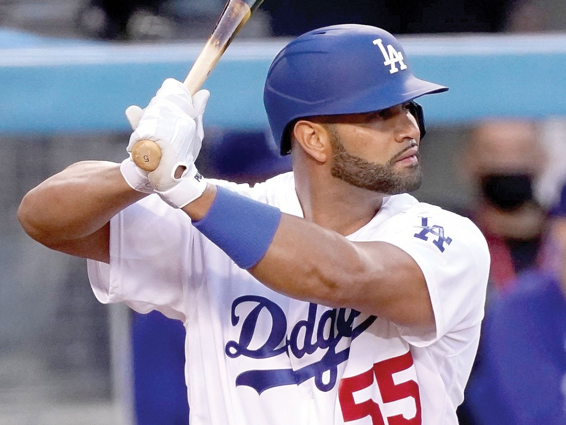 Albert Pujols ha puesto de su parte en los Dodgers